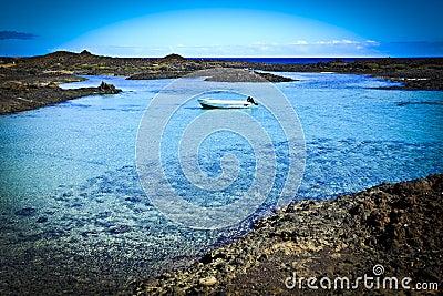 Fuerteventura Isla de los Lobos Bay 1