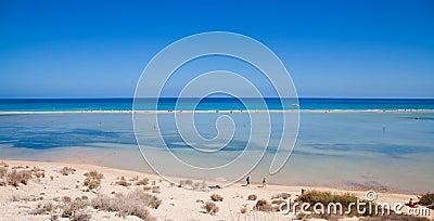 Fuerteventura,  Playa De Sotavento Editorial Photography