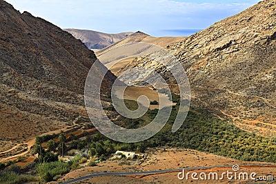 Fuerteventura Valley Betancuria-Cofete