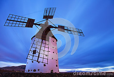 Fuerteventura, windmill