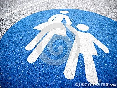 Fußgängerzeichen