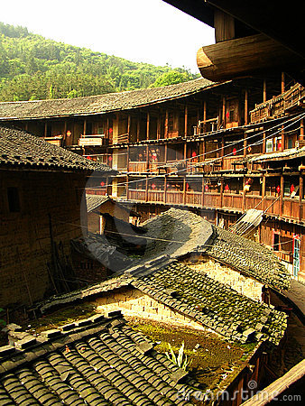 Free Fujian Tulou Earth Building Stock Photos - 5574043