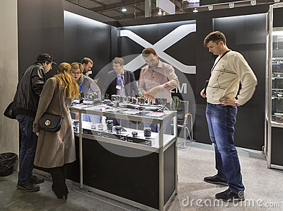 Fujifilm company booth at cee 2015 the largest for Largest craft shows in the us