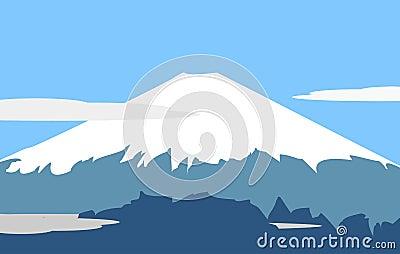 Fujiyama - symbol of Japan