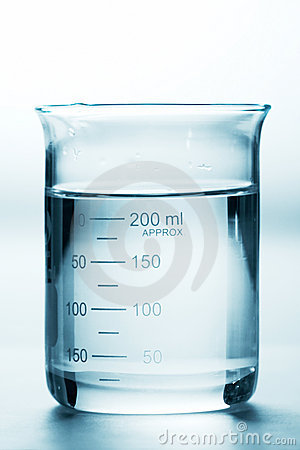 Free Full Beaker Royalty Free Stock Image - 4554516