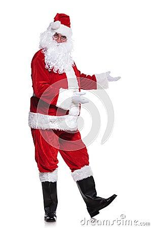 Real Santa Claus Full Body Full body picture of santa