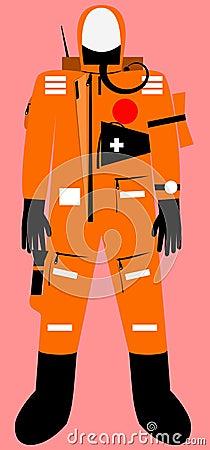 Full body survival suit