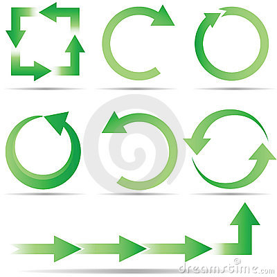 Free Full Circle Ecology Royalty Free Stock Image - 10184876