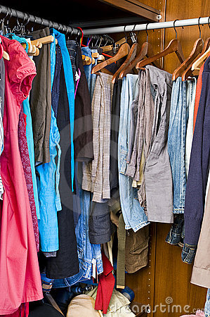 Free Full Closet Stock Photography - 15160882