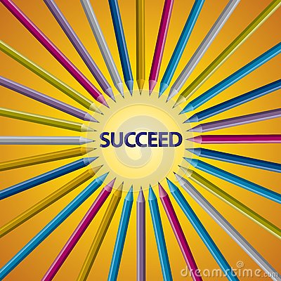 Full Color Pencil accept point SUCCEED