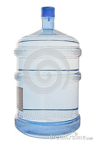 Full cooler bottle