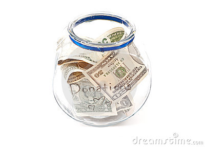 Full Donation Jar