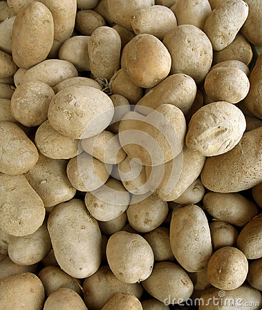 Full frame potatoe background