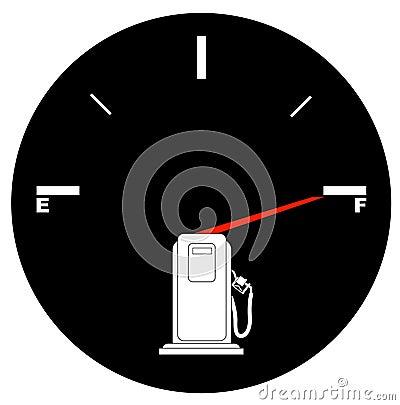 Full gas tank