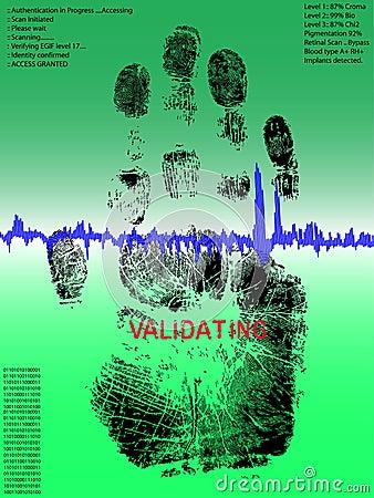 Full Handprint