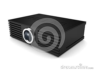 Full HD projector. cinema movie entertainment