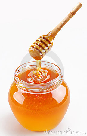 Free Full Honey Pot Royalty Free Stock Image - 11691706