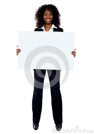 Full length shot of african business lady
