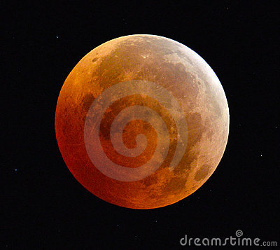 Free Full Lunar Eclipse Blood Moon Stock Images - 17525844
