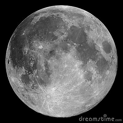 Free Full Moon Stock Image - 1016561