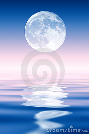 Free Full Moon Royalty Free Stock Photography - 2464827