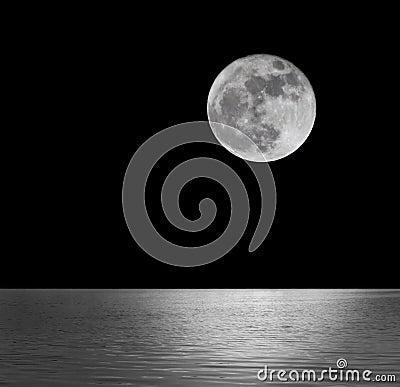Free Full Moon Royalty Free Stock Photo - 36999415