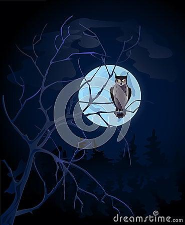 Free Full Moon Stock Photography - 3862382