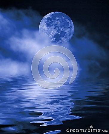 Free Full Moon At Night Stock Photography - 2166492
