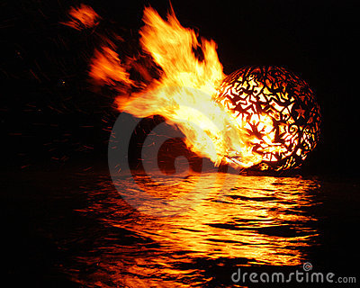 Full Moon Fire Ball