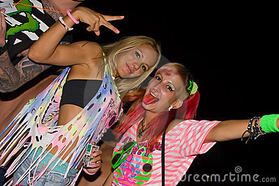 Full moon party, Thailand Editorial Stock Photo