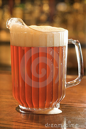 Free Full Pitcher Of Beer Stock Photo - 12676280