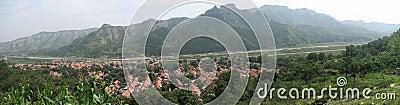 Full scene of my hometown.