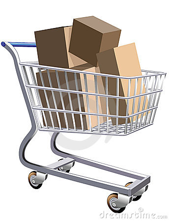 Full shopping cart