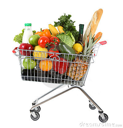 Full shoppingtrolley