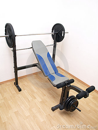 Full size bench press