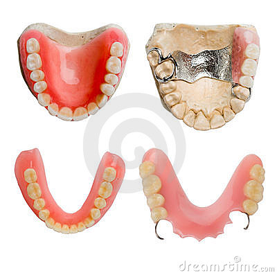 Free Full Size Dental Prosthesis Collection Royalty Free Stock Photography - 1929037
