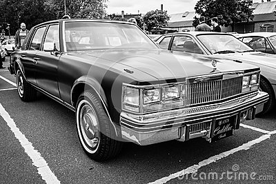 Full-size Luxury Car Cadillac Sedan De Ville Editorial ...