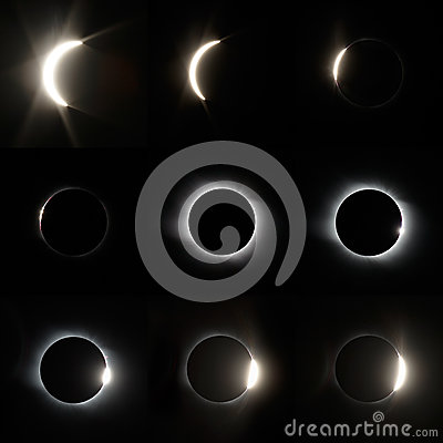 Free Full Solar Eclipse Royalty Free Stock Images - 51654229