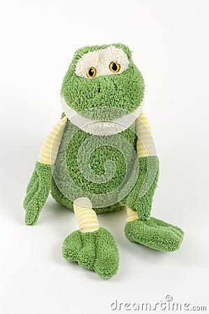 Free Full Stuffed Frog Royalty Free Stock Image - 3760566