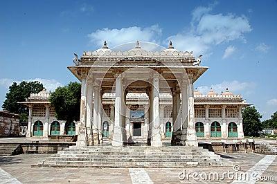 Full view of  Sarkhej Roja, Ahmedabad, India