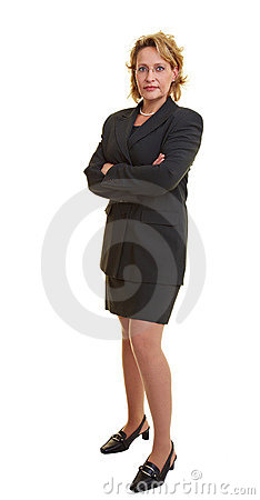 Free Fully Body Shot Of Woman Royalty Free Stock Image - 12447846