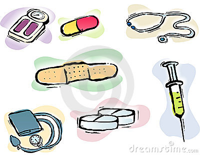 Fully editable medical Icons