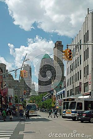 Fulton Mall Brooklyn New York City USA Editorial Photography