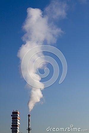 Fume chimney