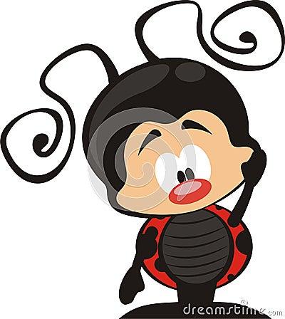 Fumetto del Ladybug