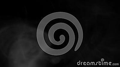Fumo, vapore, vapore, vapore, nebbia, nube di fumo realistiche più adatte all'uso nella composizione, 4k, usare la modalità scher stock footage