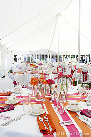 Free Fun And Funky Wedding Tables Royalty Free Stock Photos - 1553438