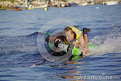 Fun with aquatic sport