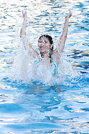 Free Fun At Swimming Pool Royalty Free Stock Photography - 237167