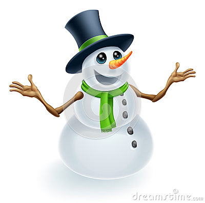 Fun Christmas Snowman